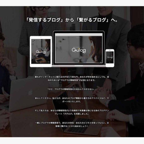 ブログ+HPテンプレート「ググログ」の販売を開始します!コンサルプランも用意。