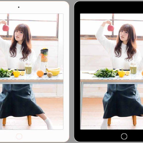 iPadの色の選び方に悩んでいたら、縁(ベゼル)の色で決めるのも面白い。