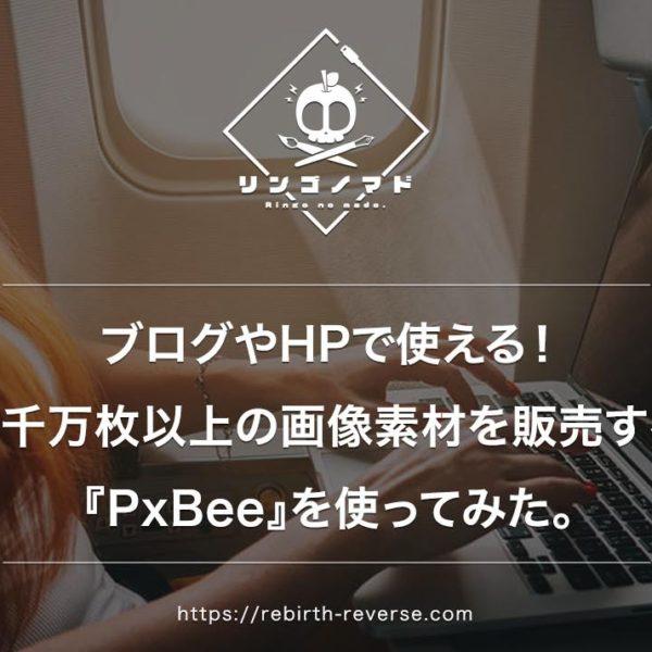 ブログやHPで使える!6千万枚以上の画像素材を販売する『PxBee』を使ってみた。